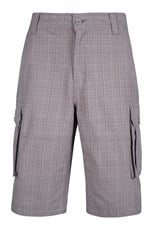 Check Mens Cargo Short