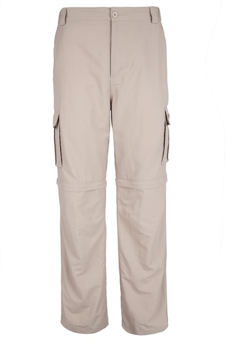 Travel Extreme Zip-Off Mens Trousers