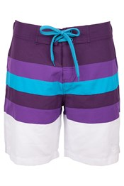 Stripe Womens Boardshorts