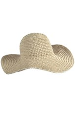 100% Straw Brimmed Hat