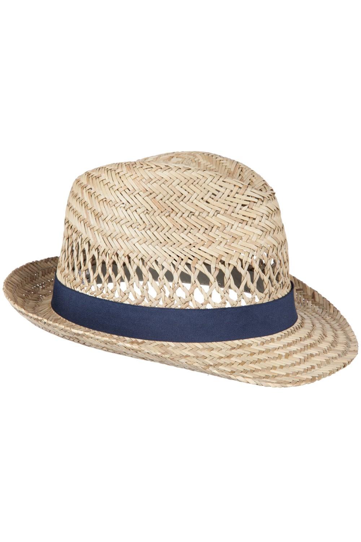 Trilby Straw Sun Hat - Beige e3afd009e38