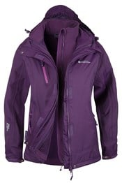 Bracken Extreme Womens 3 in 1 Waterproof Jacket