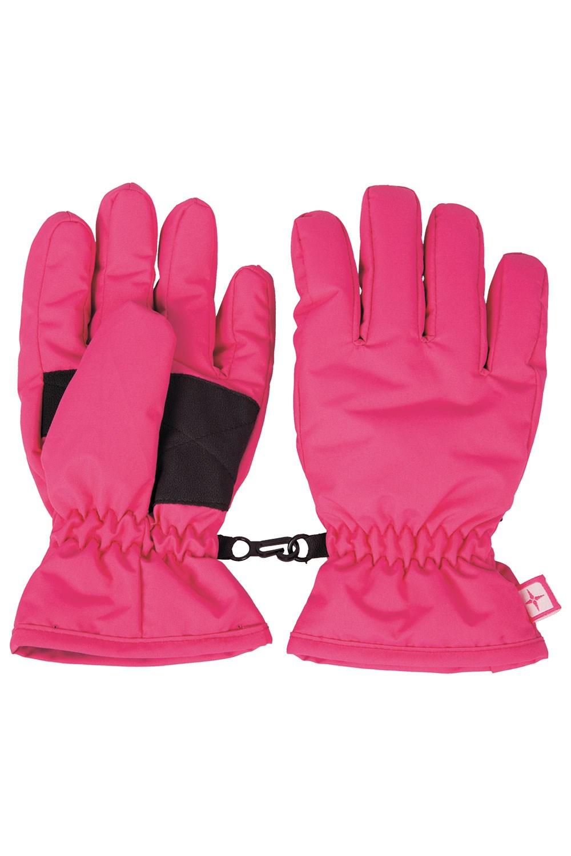 Kids Ski Gloves - Pink