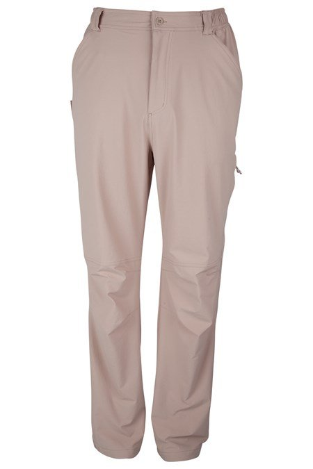 4 Way Stretch Mens Regular Length Trousers