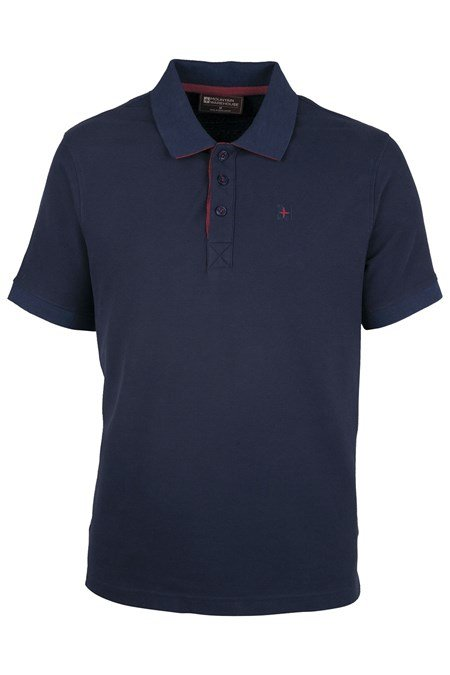 Gull Pique Mens Cotton Polo Shirt