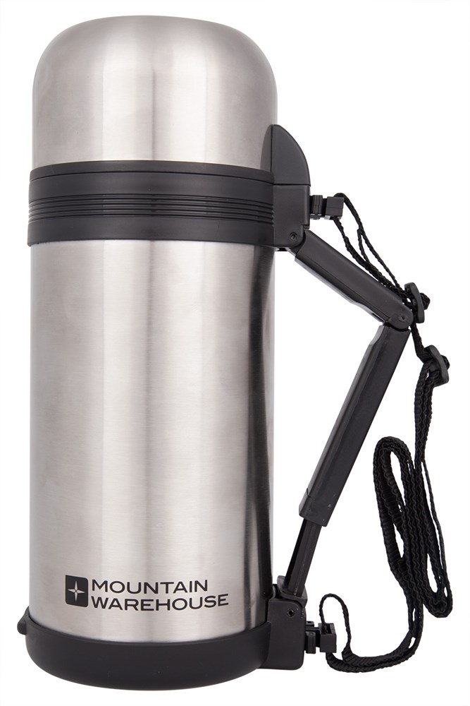 food flask with handle 1 2 litre mountain warehouse gb