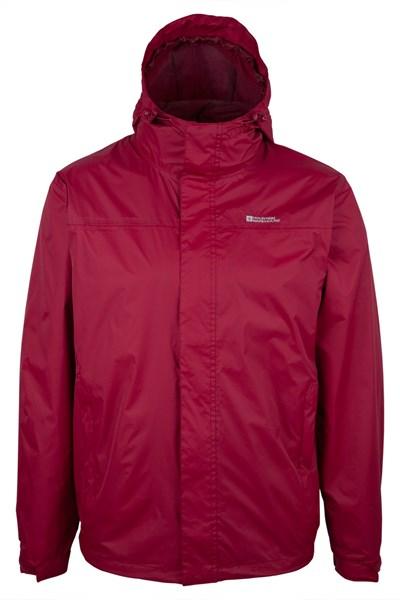 Torrent Mens Waterproof Jacket - Red