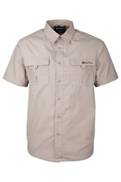 Trek Mens Short Sleeved Shirt