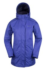 Omega Womens Waterproof Long Jacket