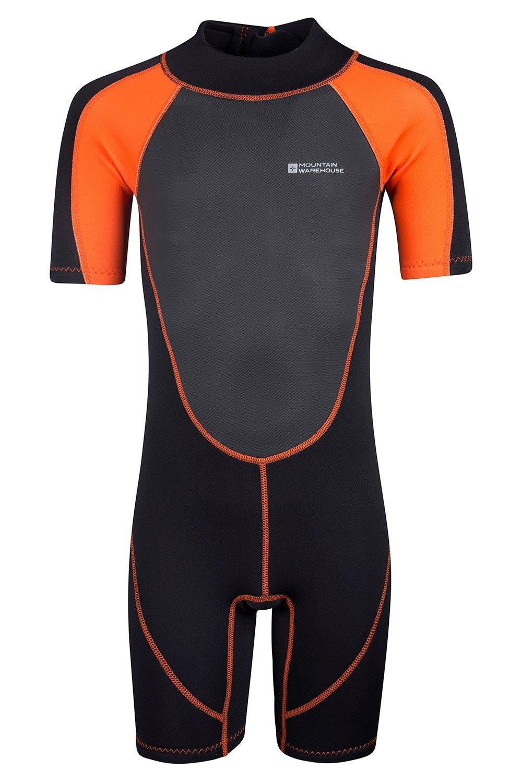 Combinaison de plongée Junior Shorty - Orange