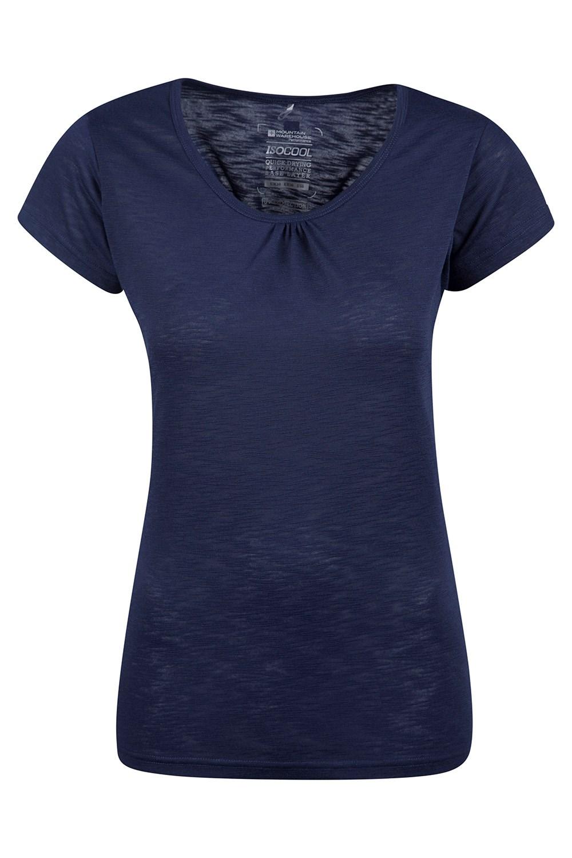 Agra Womens T-Shirt - Navy