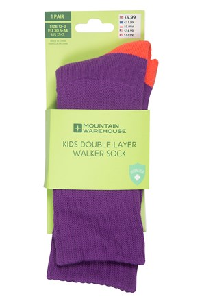 Double Layer Kids Socks