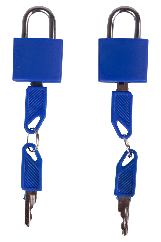 Mountain Warehouse Zwilling-Vorhängeschloss blau | 05052776246705