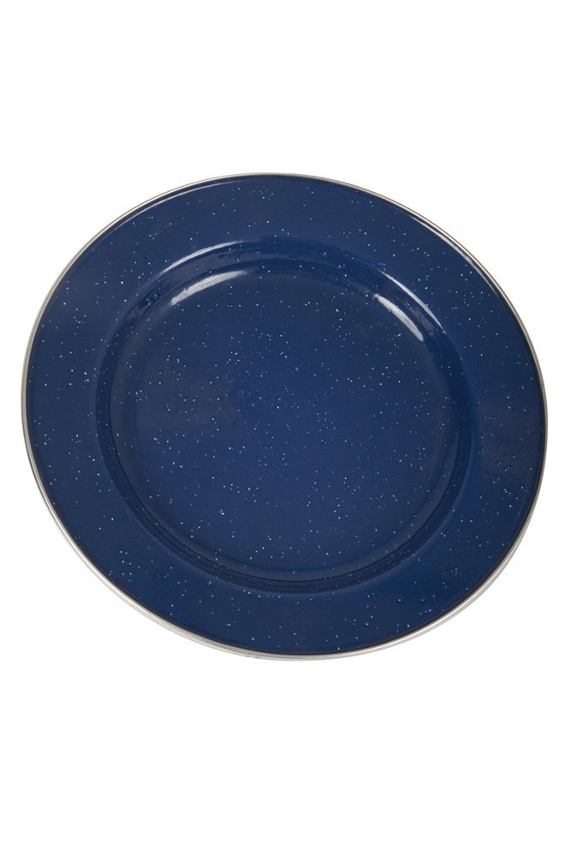 Enamel Plate - Blue