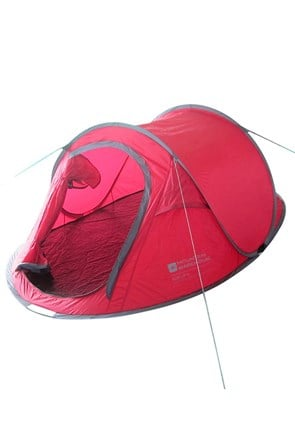Pop Up Single Skin 3 Man Tent