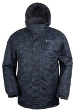 Gelid Mens Printed Water Resistant Ski Jacket