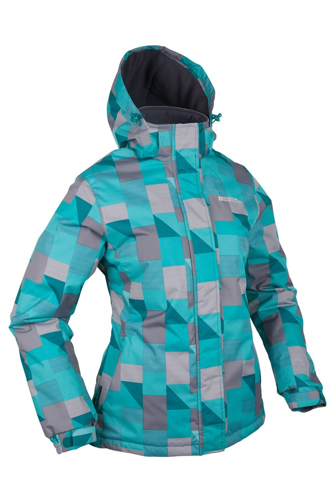 Ladies Winter Snowboarding Jacket Mountain Warehouse Dawn Womens Ski Jacket