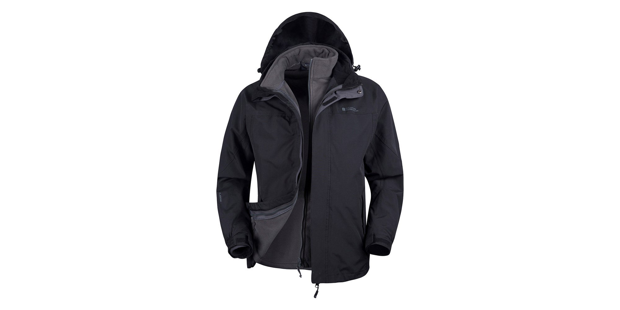 men's jackets, coats and vests Stay warm and dry no matter where you are with our selection of men's jackets, coats and vests. Our collection of men's outerwear features waterproof, hooded, insulated and water-resistant options ranging from waterproof jackets to insulated men's vests.