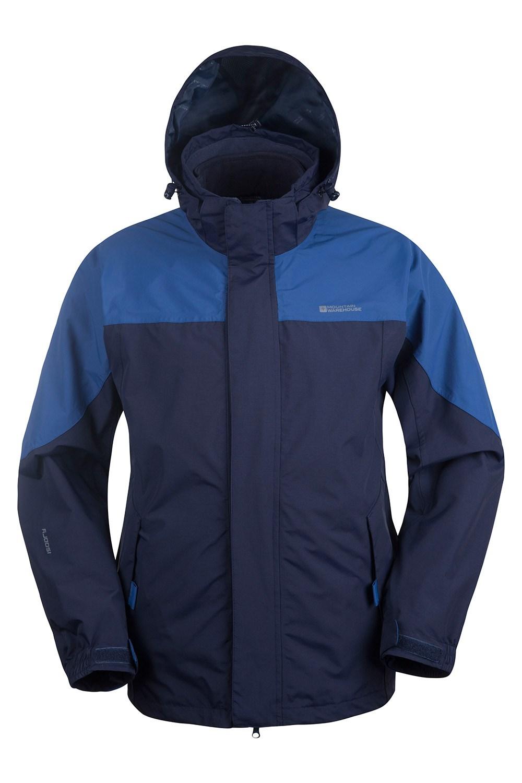 Storm Mens 3 in 1 Waterproof Jacket | Mountain Warehouse CA