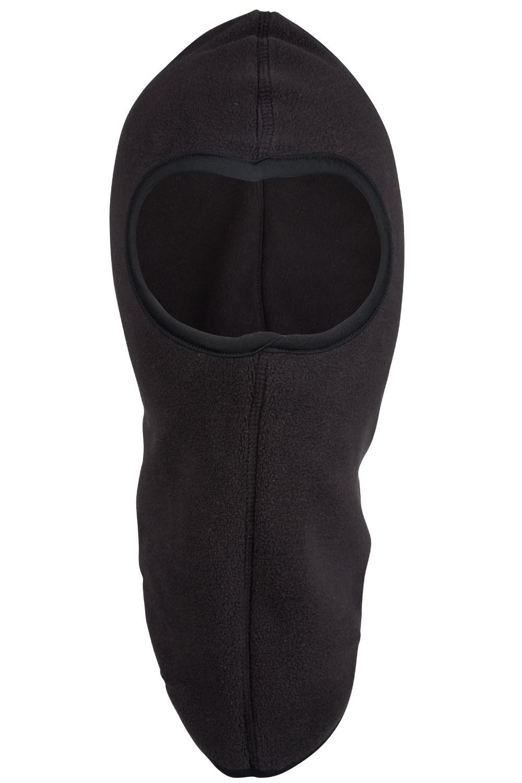 Mountain Warehouse Fleece Windproof Neck Gaiter with Adjustable Elastic Cord