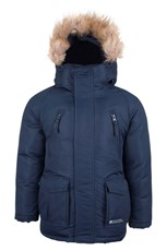 Zeus Kids Water Resistant Parka Jacket