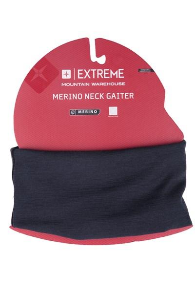 Merino Neck Gaiter - Grey