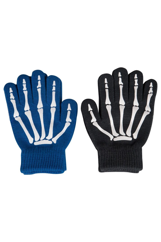 Magic Grippi Kids Gloves - 2 Pack - Blue