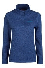 Nevis Womens Button Neck Fleece