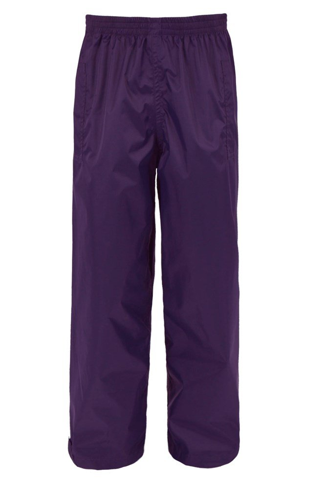 Pakka Kids Waterproof Over Trousers - Purple