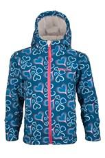 Arctic Printed Kids Softshell Jacket