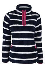 Nessy Stripe Womens Fleece
