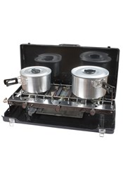 Kampa Alfresco Double Burner With Grill