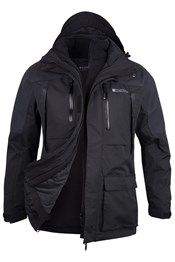 Correspondent Extreme Mens 3 in 1 Waterproof Jacket