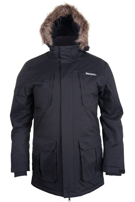 Canyon Mens Long Waterproof Jacket   Mountain Warehouse US