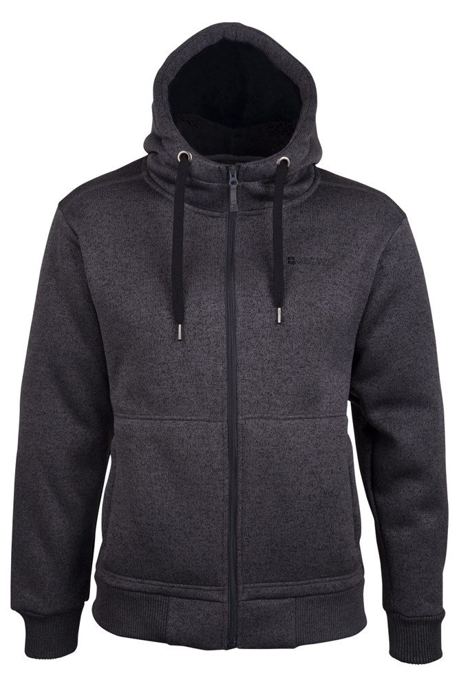 Nevis Mens Fur Lined Hoodie | Mountain Warehouse US