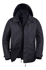 Fell Mens 3 in 1 Water Resistant Jacket