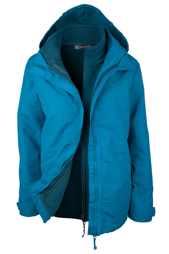 81739d2014b Fell Womens 3 in 1 Water-Resistant Jacket