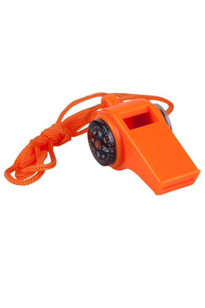 3 in 1 Emergency Whistle - Orange
