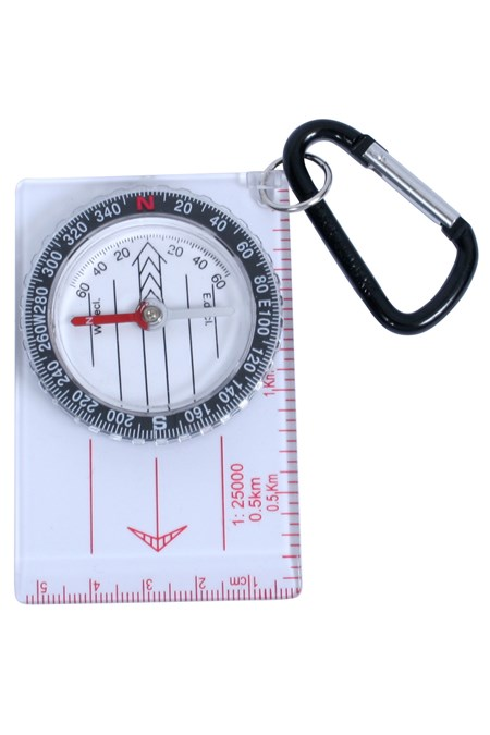 022447 COMPASS MAP WITH KARABINER