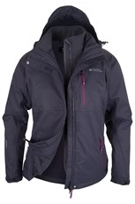 Apex Extreme Womens 3 in 1 Waterproof Jacket