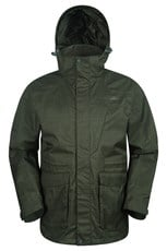 Fjord Mens Long Waterproof Jacket