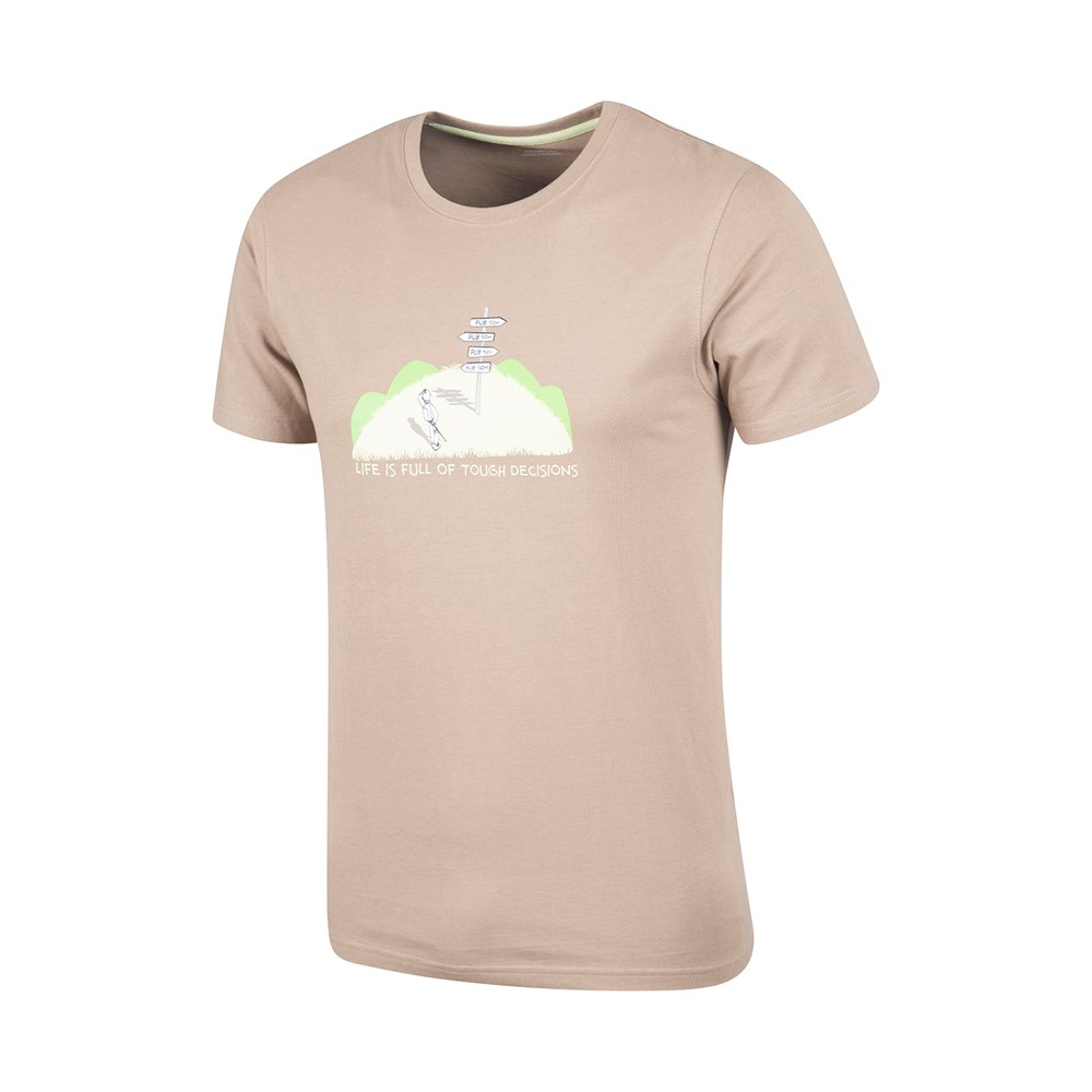 mountain warehouse tough decisions mens t shirt ebay. Black Bedroom Furniture Sets. Home Design Ideas