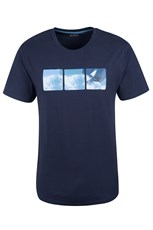 Surf Grid Mens T-Shirt