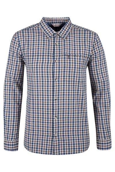 Holiday Mens Long Sleeved Shirt - Dark Grey