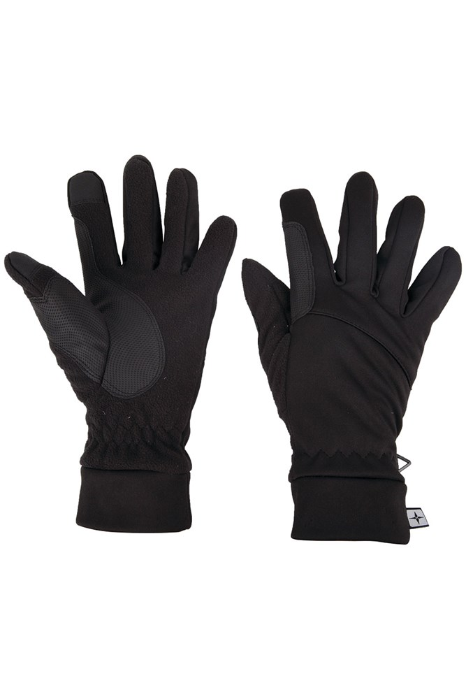 Gants pour écran tactile Softshell - Noir