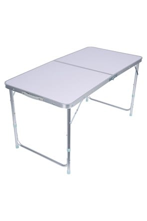 Mesa Plegable Rectangular de Resina
