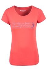 Footprints Womens T-Shirt