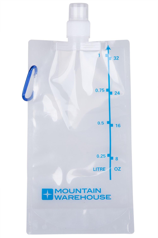 1 Litre Flexi Water Bottle - ONE