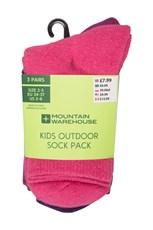 Outdoor Kids Socks - 3 Pack