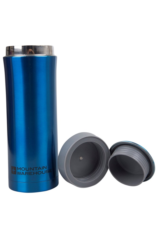 thermal vacuum double walled travel mug  ml  mountain  - thermal vacuum double walled travel mug  ml  mountain warehouse gb